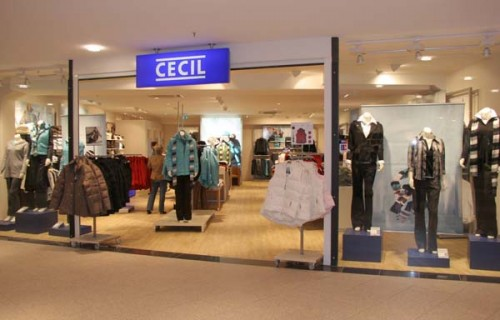 Cecil Fabrikverkauf Celle Factory Outlet Lagerverkauf