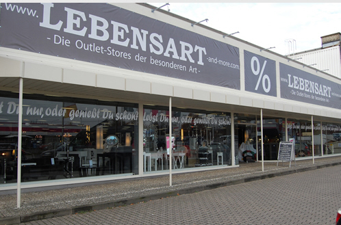 lebensart outlet store halstenbek factory outlet lagerverkauf werksverkauf. Black Bedroom Furniture Sets. Home Design Ideas