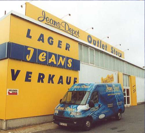 Jeans Depot Outlet Store Offenbach Factory Outlet