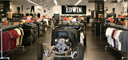edwin jeans outlet weil am rhein factory outlet lagerverkauf werksverkauf. Black Bedroom Furniture Sets. Home Design Ideas